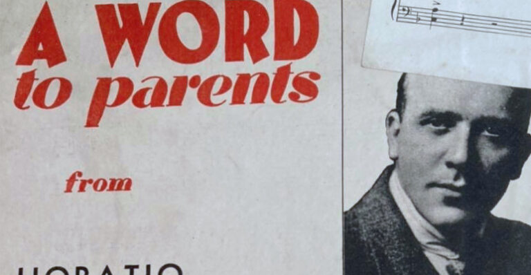 A word to parents